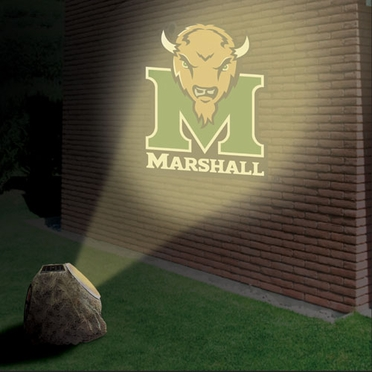 Marshall Logo Projection Rock