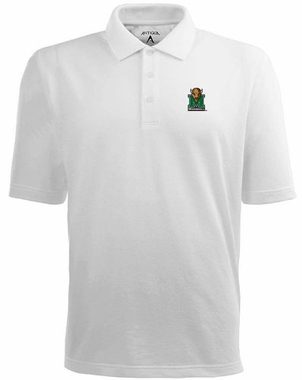 Marshall Mens Pique Xtra Lite Polo Shirt (Color: White)