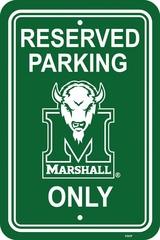 Marshall Plastic Parking Sign (P)
