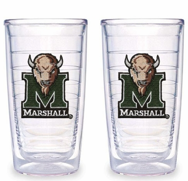 Marshall Set of TWO 16 oz. Tervis Tumblers