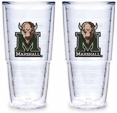 Marshall Set of TWO 24 oz. Tervis Tumblers