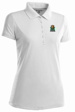 Marshall Womens Pique Xtra Lite Polo Shirt (Color: White)