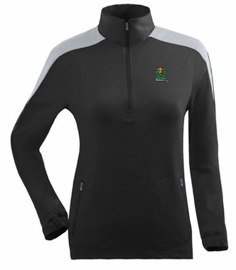 Marshall Womens Succeed 1/4 Zip Performance Pullover (Team Color: Black)