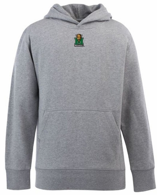 Marshall YOUTH Boys Signature Hooded Sweatshirt (Color: Gray)