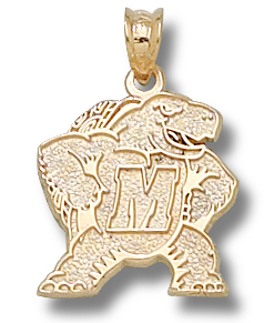 Maryland 10K Gold Pendant