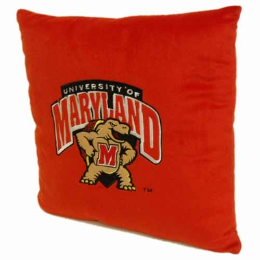 Maryland 15 Inch Applique Pillow