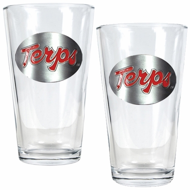Maryland 2 Piece Pint Glass Set
