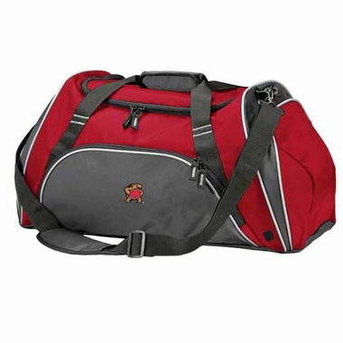 Maryland Action Duffle (Color: Red)