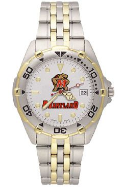 Maryland All Star Mens (Steel Band) Watch