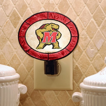 Maryland Art Glass Night Light