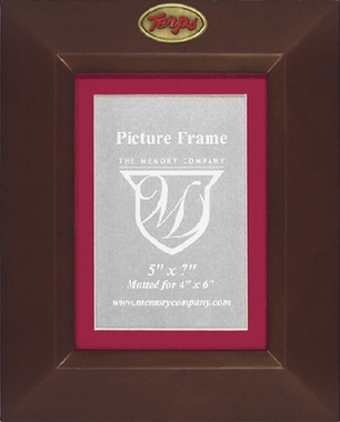 Maryland BROWN Portrait Picture Frame