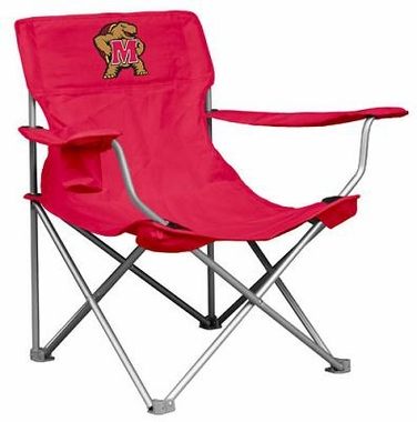 Maryland Canvas Adult Folding Logo Chair