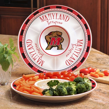 Maryland Ceramic Chip and Dip Plate