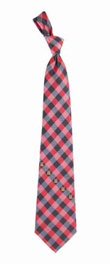 Maryland Check Poly Necktie