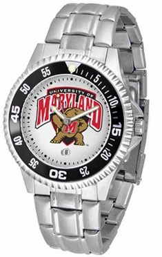 Maryland Competitor Men's Steel Band Watch