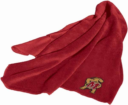 Maryland Fleece Throw Blanket