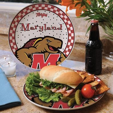 Maryland Gameday Ceramic Plate
