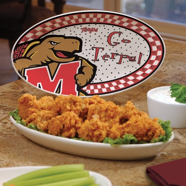 Maryland Gameday Ceramic Platter