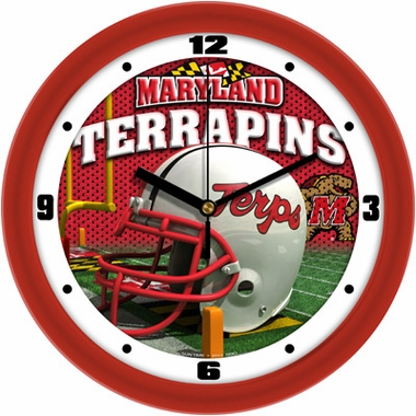 Maryland Helmet Wall Clock