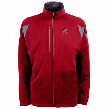Maryland Mens Highland Water Resistant Jacket (Team Color: Red)