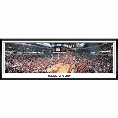 Maryland Inaugural Game Framed Panoramic Print