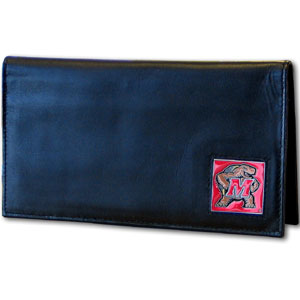 Maryland Leather Checkbook Cover (F)