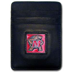 Maryland Leather Money Clip