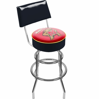 Maryland Padded Bar Stool with Back