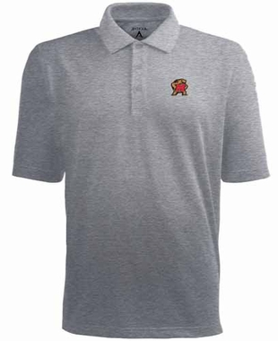 Maryland Mens Pique Xtra Lite Polo Shirt (Color: Gray)