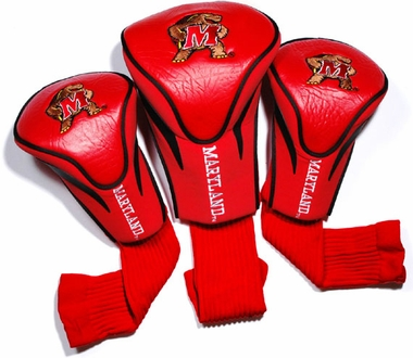 Maryland Set of Three Contour Headcovers