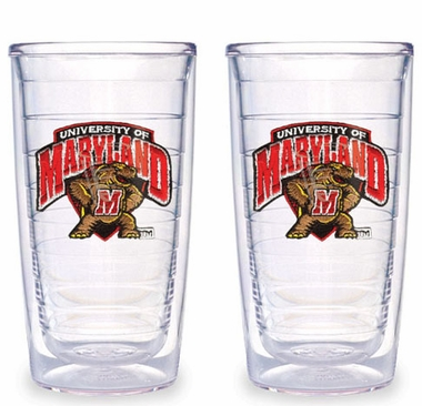Maryland Set of TWO 16 oz. Tervis Tumblers