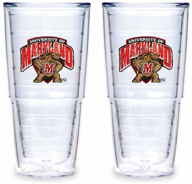 Maryland Set of TWO 24 oz. Tervis Tumblers