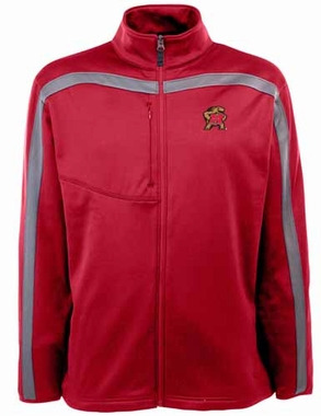 Maryland Mens Viper Full Zip Performance Jacket (Team Color: Red)
