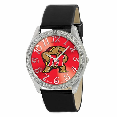 Maryland Women's Glitz Watch