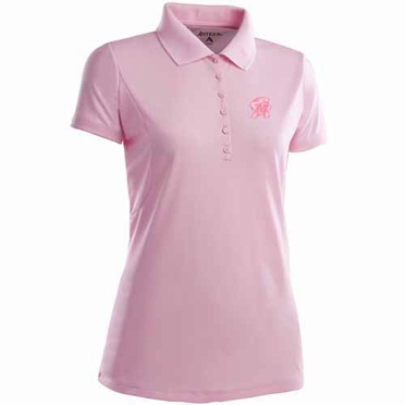 Maryland Womens Pique Xtra Lite Polo Shirt (Color: Pink)