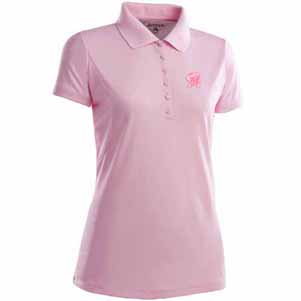 Maryland Womens Pique Xtra Lite Polo Shirt (Color: Pink) - Large