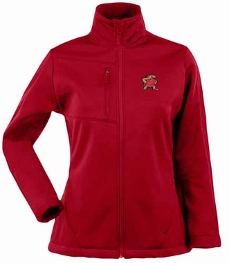 Maryland Womens Traverse Jacket (Color: Red)