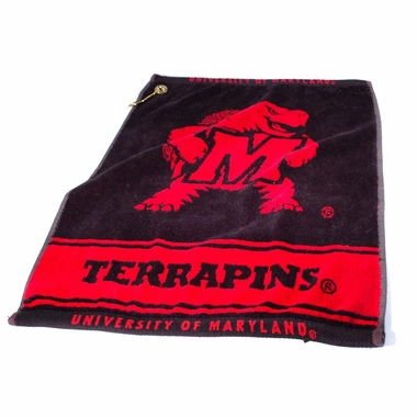 Maryland Woven Golf Towel