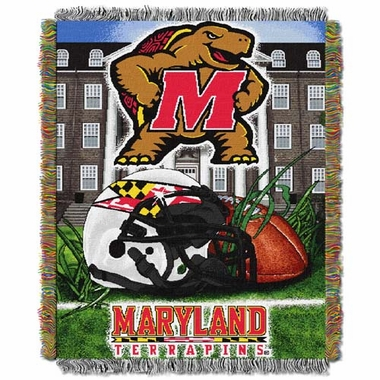 Maryland Woven Tapestry Blanket