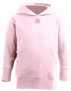 Maryland YOUTH Girls Signature Hooded Sweatshirt (Color: Pink)