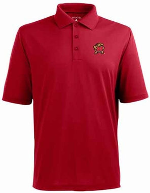 Maryland YOUTH Unisex Pique Polo Shirt (Team Color: Red)