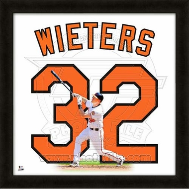 "Matt Wieters, Orioles UNIFRAME 20"" x 20"""