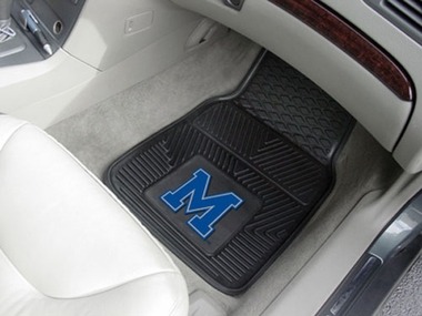 Memphis  2 Piece Heavy Duty Vinyl Car Mats