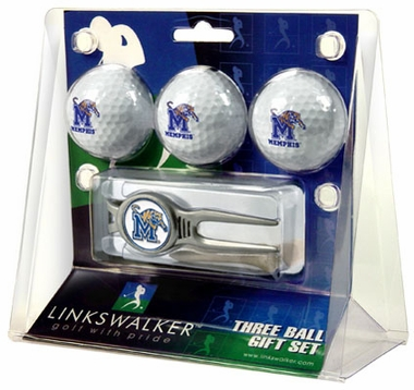 Memphis 3 Ball Gift Pack With Kool Tool