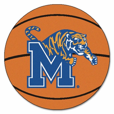 Memphis Basketball Shaped Rug
