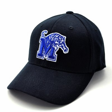 Memphis Black Premium FlexFit Baseball Hat