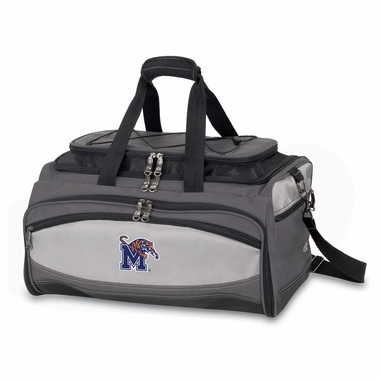 Memphis Buccaneer Tailgating Embroidered Cooler (Black)