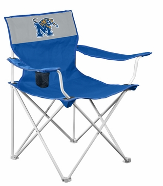 Memphis Canvas Adult Folding Logo Chair