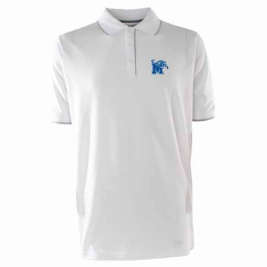 Memphis Mens Elite Polo Shirt (Color: White)