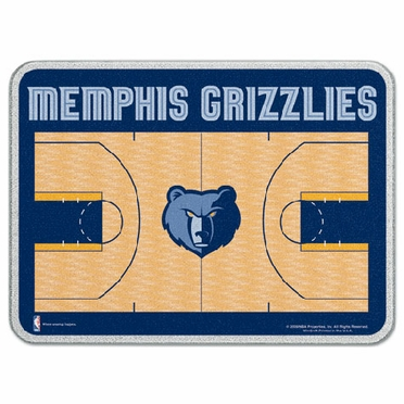 Memphis Grizzlies 11 x 15 Glass Cutting Board